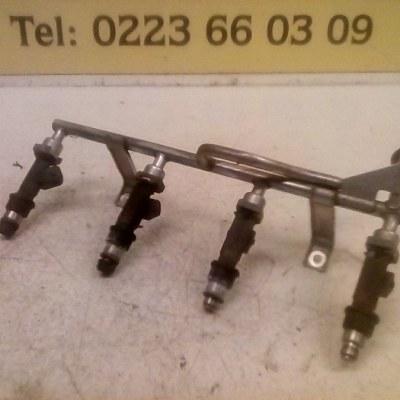 25317316 Injectorrail Met 4 Injectoren Opel Astra G 1.6 8V 2001