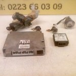 B5E1 18 881B /LC62 67 5G2C ECU Startset Met Alle Sloten Mazda Demio 1.5 16V Witte Stekker 1999/2003