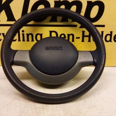 000-1240-V013 Stuur Met Airbag Smart City Coupe 1999 Kleur Blauw