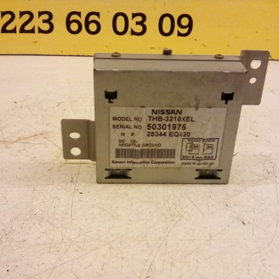 28344 EQ420 Navigatie Computer Nissan X Trail T 30 2005