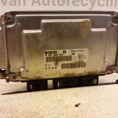 0 261 206 246 / 96 378 378 80 ECU Peugeot 206 Citroen Saxo
