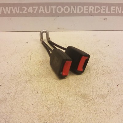 6Q07857739 Gordelontvanger Achter Seat Ibiza 1996-1999