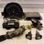 06A 906 018 - 1C0 929 800 C - 1JM 907 291 -1J1 907 637 A ECU Startset Met Sloten Volkswagen New Beetle 2.0 AQY 1999-2005