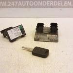 0 261 207 962 - 55 350 552 SD / 24 445 098 ECU Startset Opel Corsa C 1.2 16V 2003 (18)