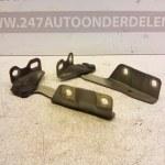 MR959412 - MR959411 Motorkapscharnier Links En Rechts Mitsubishi Colt CZ3 2005-2008