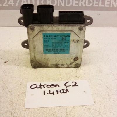 96 520 242 80 Stuur Computer Citroen C2 1.4 HDI