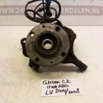 Fusee Wielnaaf Links Voor Citroen C2 Met ABS 2004-2008