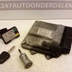 55194015ZF / 13 144 390 ECU Startset Opel Combo 1.3 JTD DPF 2006