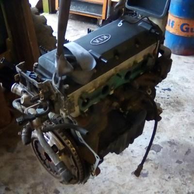 Gebruikte Motor KIA RIO Stationwagen (DC) 1.3 (08-2000 / 02-2005) [A3E]
