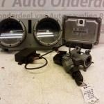 030 906 032 CG ECU Startset Met Contactslot Volkswagen Polo 6N2 1.4 AUD 2001 (6)
