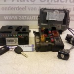 96 637 554 80 ECU Startset Peugeot 207 1.6 HDI 66 KW 2009 Met Sloten (7)