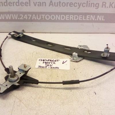 Raammechanisme Rechts Voor Chevrolet Matiz 2005-2010 Handbediend