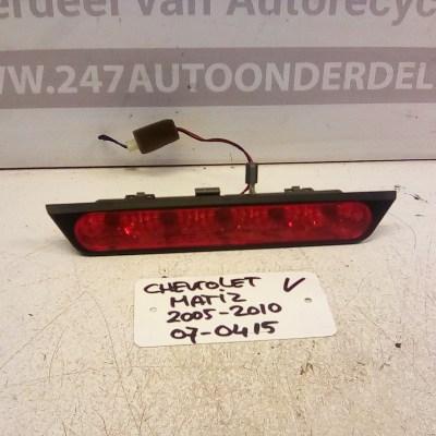 Derde Remlicht Chevrolet Matiz 07-0415