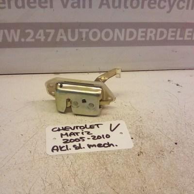 Achterklep Slot mechaniek Chevrolet Matiz 2005-2010