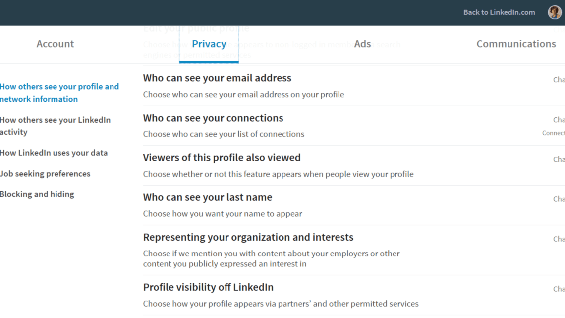 LinkedIn's new privacy setting prohibits marketers from exporting emails