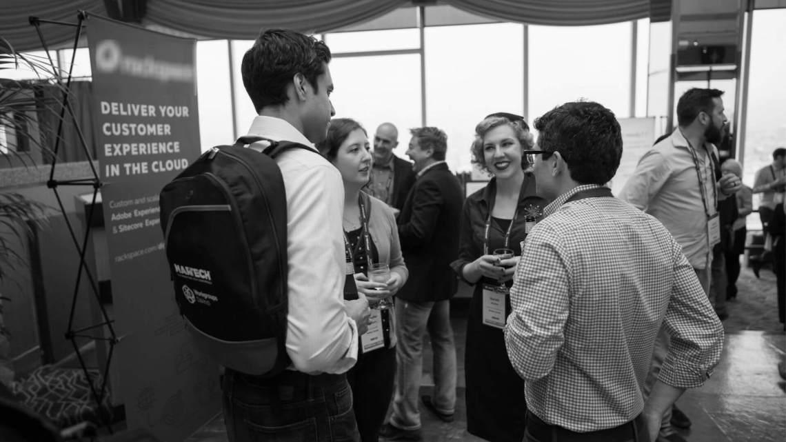 Successful marketing teams attend MarTech