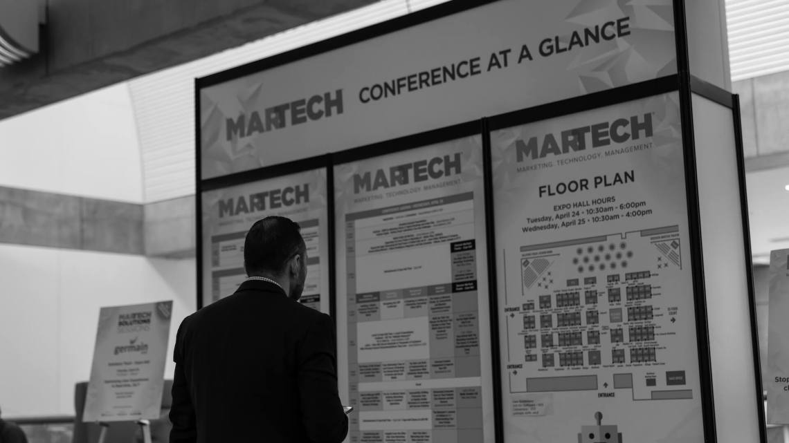 Check out the new MarTech agenda
