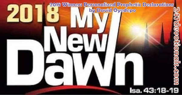 A NEW DAWN INTERCESSORY PRAYER POINTS Bishop David O. Oyedepo
