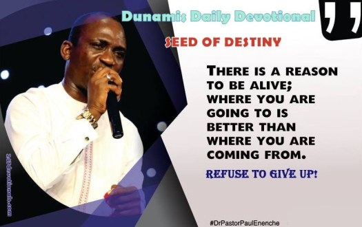 Seed of Destiny 18 March 2018 By Dr Paul Eneche
