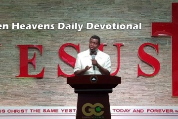 Open Heavens 22nd May 2018