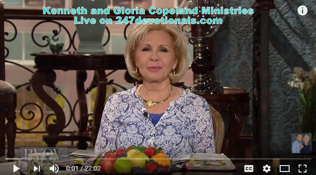 Ambassador for Christ Gloria Copeland