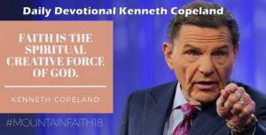 Devotional April, 2018, Kenneth Copeland