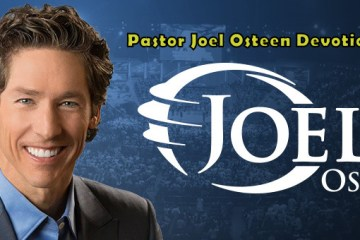 Today's Word Joel Osteen (24 March 2018)
