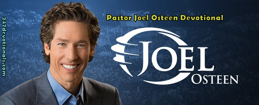 Today's Verse Joel Osteen