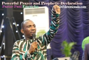 Prayer and Prophecy By Dr Paul today Enenche