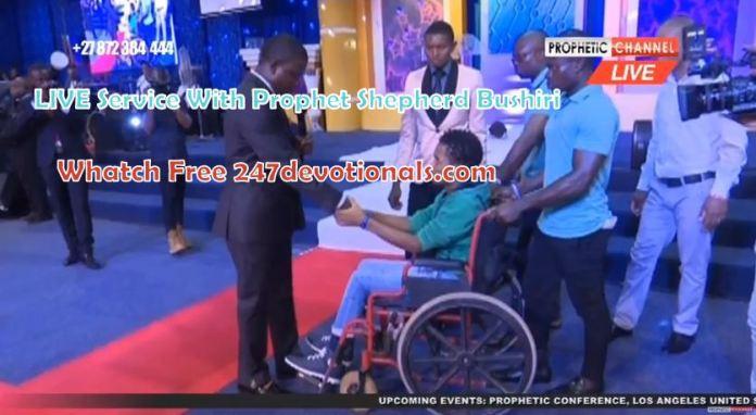 Stream Live Sunday Prophet Shepherd Bushiri