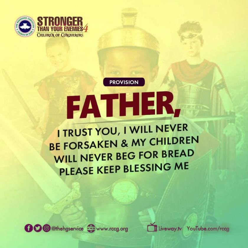 Watch Live RCCG Holy Ghost Service