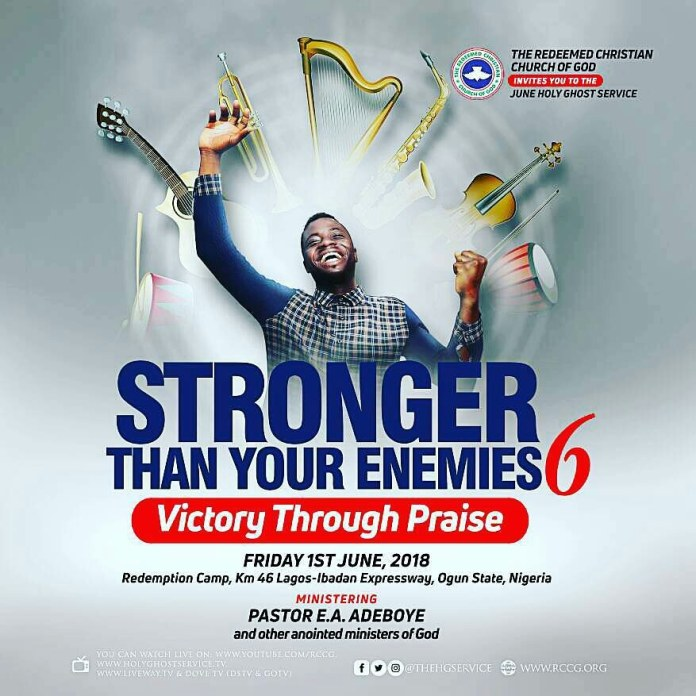 RCCG Stronger than your enemies 6 night