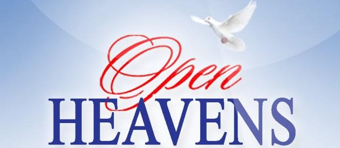 Open Heavens 8 September 2018