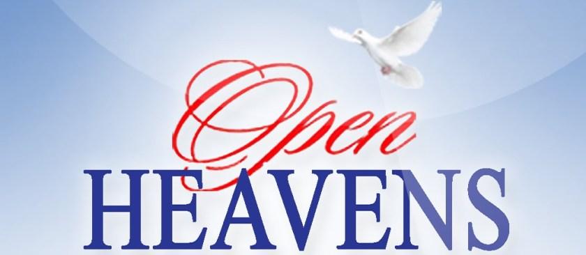 Open Heaven June 7 2018