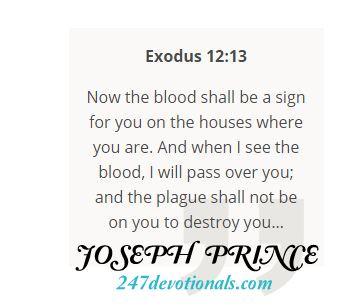 Bible Verse Joseph Prince Today