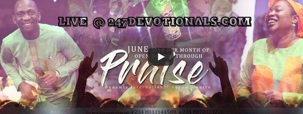 Dunamis Live POWER COMMUNION SERVICE 13.06.18