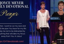Joyce Meyer Daily Devo