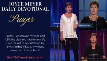 Joyce Meyer's Daily 2 July 2018 Devotional — Keep Your