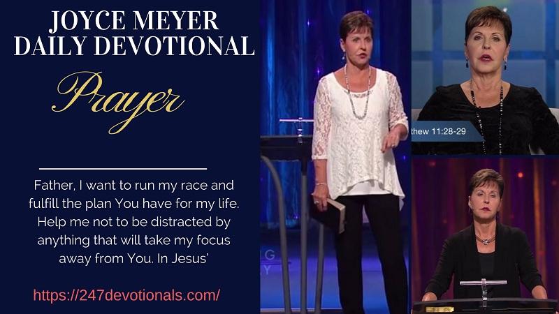Joyce Meyer Daily Devo