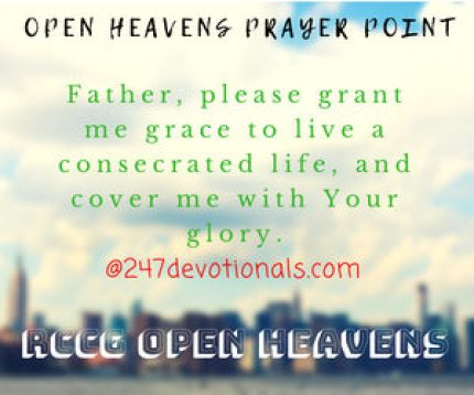 OPEN HEAVENS PRAYER POINT