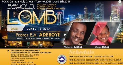 RCCG CANADA Live Streaming
