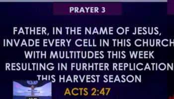 hour of prayer point 3