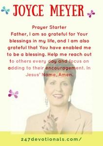 Prayer StarterJoyce Meyer