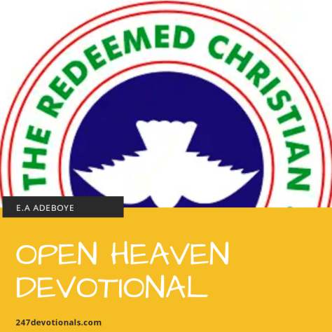 Open Heavens 7 September 2018