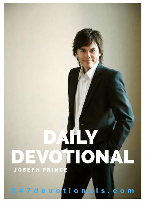 Joseph Prince devotional
