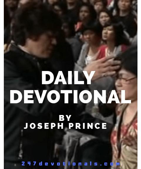 Joseph Prince devotion