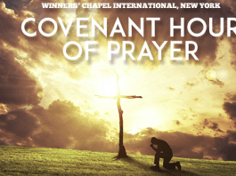 Covenant Hour Of Prayer INTERCESSORY GUIDELINES