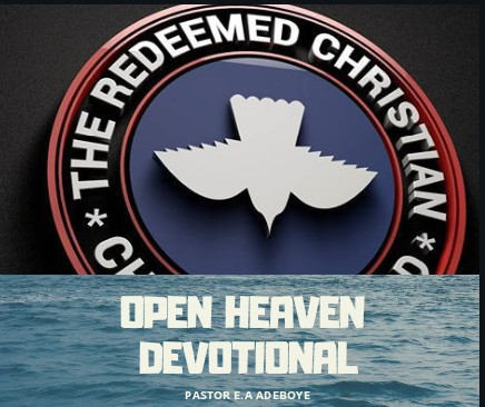 Open Heavens 30th September 2018