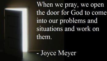 Joyce Meyer morning prayer