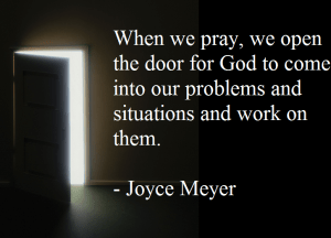 Joyce Meyer morning prayer
